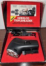 Men's Philips Norelco HP1135 Electric Shaver Dual Voltage RAZOR VTG Tripleheader