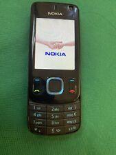 Nokia Slide 6600s - Black (Unlocked) Mobile Phone Working Sim Free As Seen Read