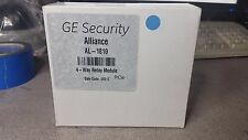 NEW! GE Security Alliance AL-1810 4-Way Relay Module FREE SHIPPING