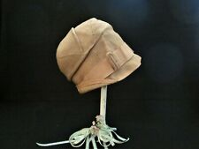 Antique Imported Amhat - Vis-Crush Flapper Cloche Hat- 1920s - no stand