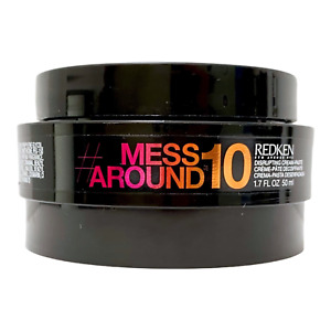 Redken Mess Around 10 Disrupting Cream Paste 1.7 oz 50ml NEW
