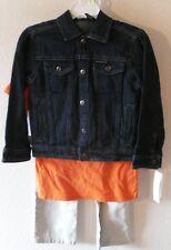 NWT Calvin Klein Little Boys Denim Jacket Pants & T-Shirt 3-Piece Set 4 MSRP$79