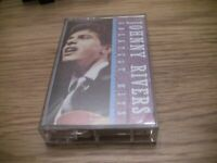 Johnny Rivers Greatest Hits Cassette with 7th Son, Secret Agent Man,