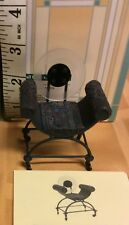 24 PCS Dollhouse Furniture Miniatures Full Circle Chair #24036 By Raine 1 CASE