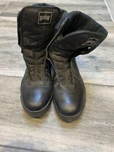 Magnum Classic Mid Uniform Boots Tactical Army Police Men's Black Size UK 9