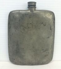 Old James Dixon & Sons Sheffield Pewter Hip Flask 5 oz Made in England
