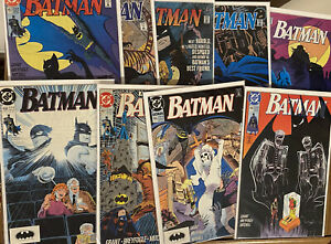BATMAN -LOT Of 10 Issues #455-463 ~ Free Shipping! 🔥 🦇 🔑