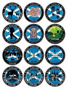 2x West Highland Way Scotland Vinyl Sticker - Travel sticker Trophy - Many Types