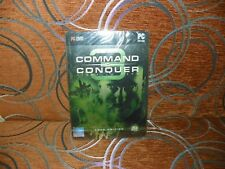Command & COnquer 3: Tiberium Wars - Kane Edition Steelbook BRAND NEW & SEALED