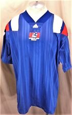 Vintage 90's Adidas USA Away World Cup (XL)  Retro Graphic Team Jersey Blue