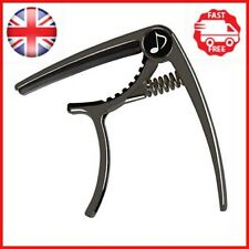 Donner DC-2 Guitar Capo for Acoustic and Electric Guitar, Black