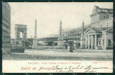 Ancona Città Porta Marina Alterocca 2568 cartolina VK0006
