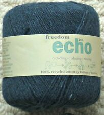 Knitting Wool 50g Echo Recycled Cotton DK Double Knitting Knitting Wool Yarn