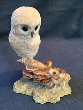 Border Fine Arts Owl With Mouse (ref P095)