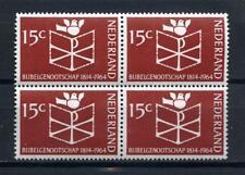 Nederland Bijbelgenootschap 1964 820 blok v 4 - POSTFRIS