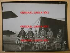 ORIG. FOTO MANFRED VON RICHTHOFEN 1917 FRANKREICH JAGDSTAFFEL FRONT GRUPPENFOTO