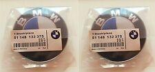2 stuck passt BMW Emblem 82mm 2Pin Vorne oder Hinten Motorhaube Kofferraum 3er