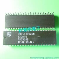 NOS Philips P89C51X2BN P89C51 89C51 FLASH MCU MPU DIP-40 x 1PC