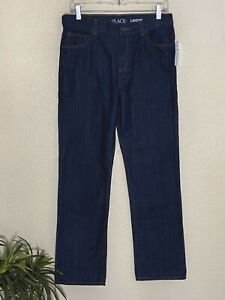 The Children's Place Boys Loose Fit Straigh Jeans Size 16  30 x 30 New with Tags