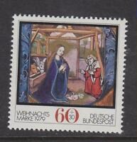 WEST GERMANY MNH STAMP DEUTSCHE BUNDESPOST 1979 CHRISTMAS  SG 1912