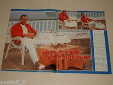 JULIO IGLESIAS clipping articolo fotografia 1983 AT28 RUBACUORI 40 ANNI