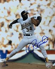 Dave Stewart Oakland A's Pitcher Autographed 8x10 Pose 1