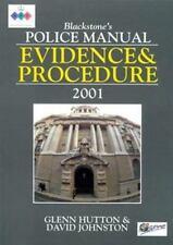 Evidence and Procedure 2001 (Blackstone's Police Manuals)