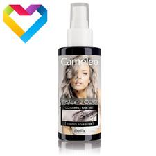 DELIA CAMELEO spray SILVER HAIR TONER RINSE COLOUR BLOND HAIR 150ml