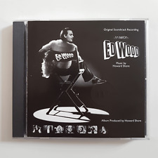 "B.O. FILM  ♦ CD ""ED WOOD"" (SOUNDTRACK - TIM BURTON) par HOWARD SHORE"