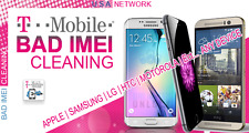 T-Mobile USA CLEANING SERVICE for ALL iPhone & Android BLOCKED/STOLEN/BAD/EIP