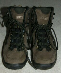Lowa Kody GTX Mid Brown Leather Gore Tex Waterproof Hiking Boots Men's 8
