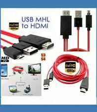 MHL USB to HDMI HD TV Adapter Cable for Samsung Galaxy Tab 3 10.1 8.0 Tablet 2M#