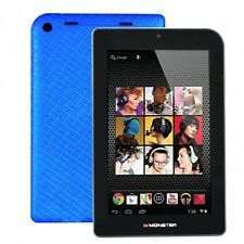 "Monster M7 7"" Blue Tablet 32GB Dual Core Andriod HDMI Wifi Bluetooth IPS HD"
