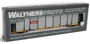 HO Walthers Proto 920-101329 Canadian Pacific 89' Thrall Bi-Level Auto Rack