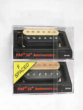 DiMarzio R-s F-s PAF 36th Anniversary Neck & Bridge Set Black/Creme