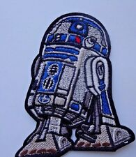Star Wars R2-D2  Embroidered Iron On / Sew On Applique Patch