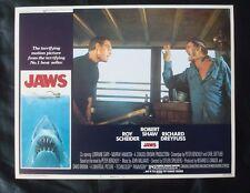 Original 1975 ***JAWS*** 11x14 Lobby CARD Steven SPIELBERG Scheider NSS 75/155