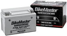 BikeMaster AGM Platinum II Battery MS12-30L-BS 78-0728