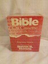 Steven B Stevens  Holy Bible King James Version 12 Cassette Tapes