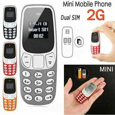 Mobile Cell Phone Worlds Smallest Dual SIM Pocket Tiny Keypad GSM Bluetooth V3