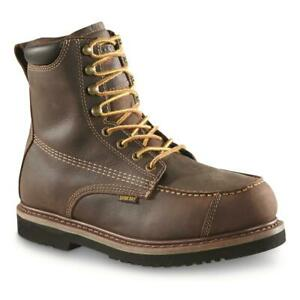 New Guide Gear 9 in Men's Field Series Uplander Waterproof Hunting Boots Brown