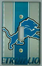 Detroit Lions Light Switch Plate Cover Nfl Football Unique Gift Single Gang