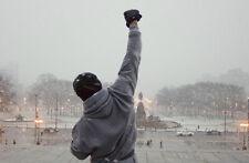 "Rocky Balboa - Motivational Quotes Art Fabric Silk Poster 36x24"" Decor 03"