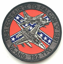 192 TFG Crusaders USA Air Force Military Embroidered Patch Official Item