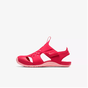 New Nike Preschool Sunray Protect 2 Sandal (PS) Shoes (943828-600) Tropical Pink