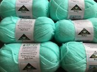 Phentex Merit Worsted Weight Pink Yarn 2 Skeins Balls Made in Canada 50g//1.75oz