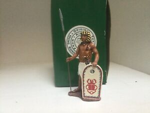 King & Country Ancient Egyptian infantry. AE09 Original box Excellent condition