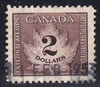 CANADA REVENUE FCF4 USED VF