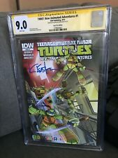 TMNT: NEW ANIMATED ADV #1 TOYS R US VARIANT : SIGNED BY EASTMAN : CGC SS 9.0