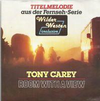 "Tony Carey - Room With A View (Theme ""Wilder Westen"") (Vinyl-Single 1988) !!!"